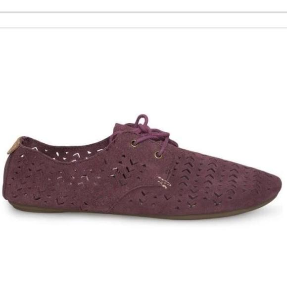 Tan Sanuk Bianca Perf Sneakers Womens